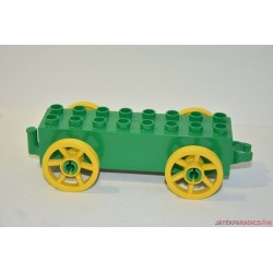 Lego Duplo zöld  hintó alap