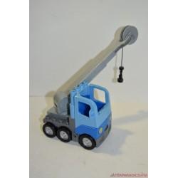 Lego Duplo kék teherautó csigás emelővel