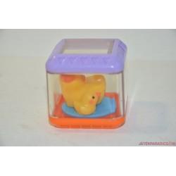 Fisher-Price színes Peek a Boo kocka kacsa