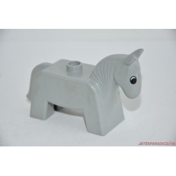 Lego Duplo szürke lovacska