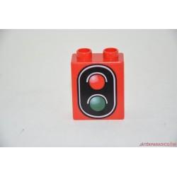 Lego Duplo közlekedési lámpa képes elem