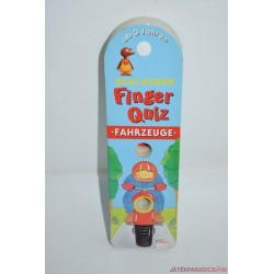 Finger Quiz ujjal játszható képes játék - Járművek