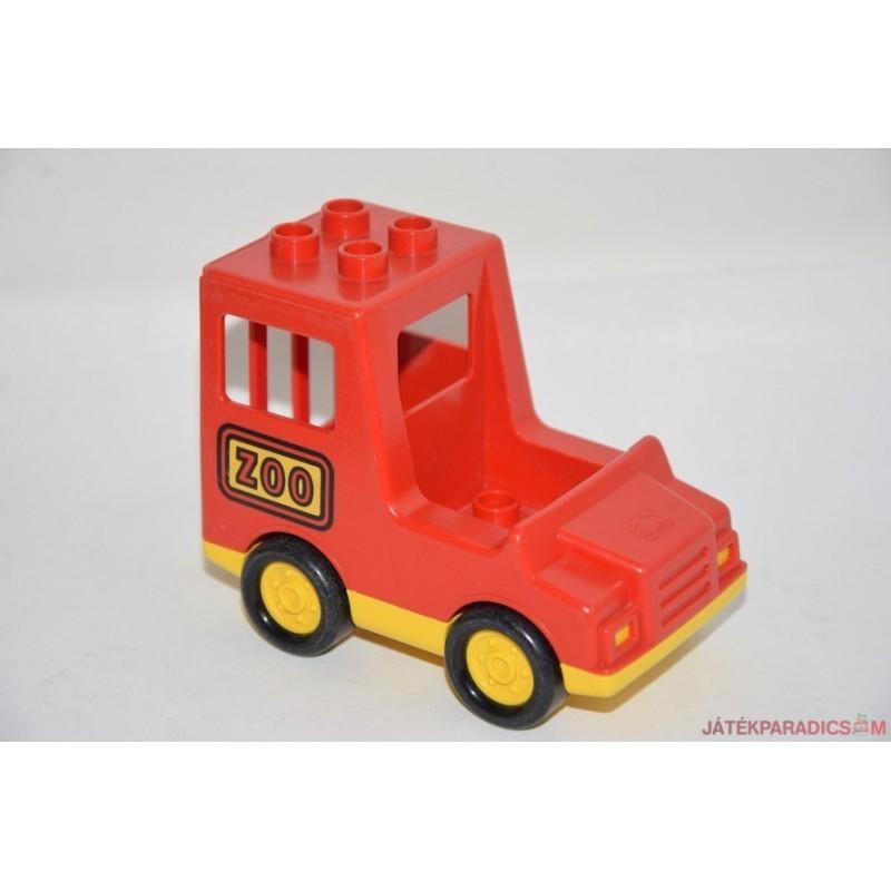 Lego Duplo ZOO állatkerti autó