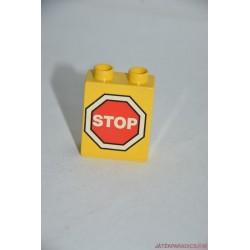 Lego Duplo stop képes elem