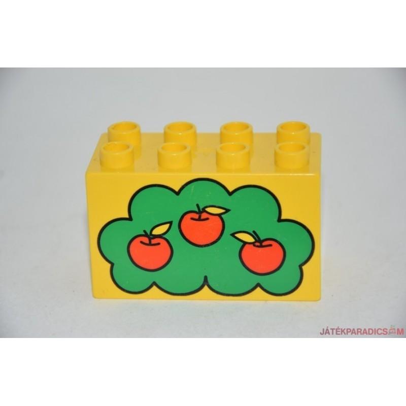 Lego Duplo almás képes elem