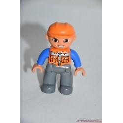 Lego Duplo vasutas munkás