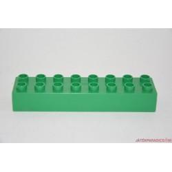 Lego Duplo zöld 8-as hosszú elem