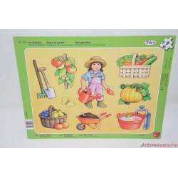 Kertészet lapos kirakó játék