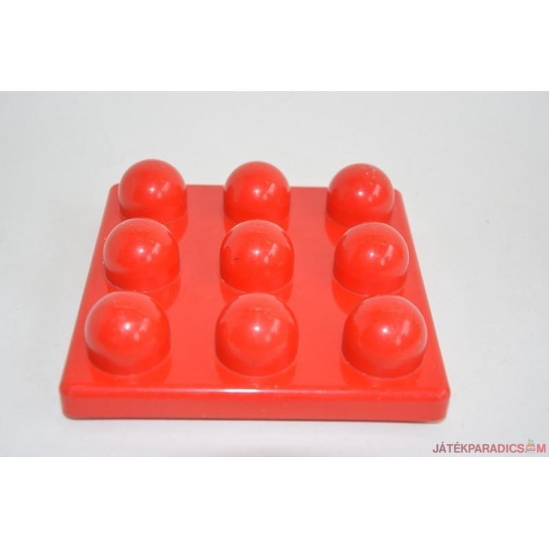 Lego Primo piros 9 gombos piros alaplap