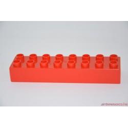 Lego Duplo 8-as hosszú piros elem