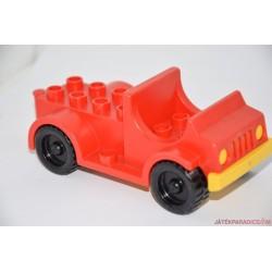 Lego Duplo platós piros autó