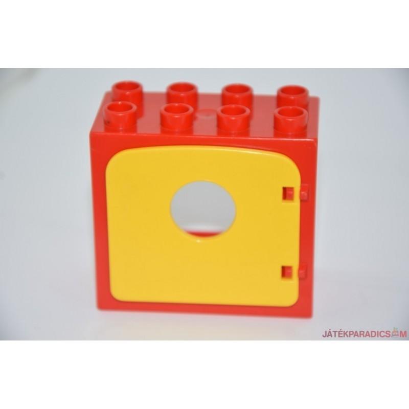 Lego Duplo piros ablak