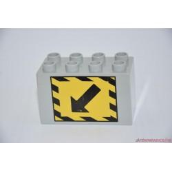 Lego Duplo vonatterelő irány képes elem