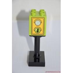 Lego duplo közlekedés jelző lámpa, zöld