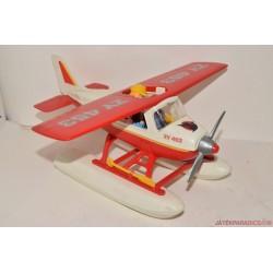 Playmobil kétéltű repülőgép hidroplán pilótákkal E/9