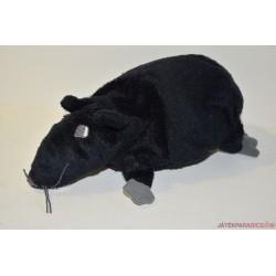 IKEA MINNEN RATTA fekete plüss patkány