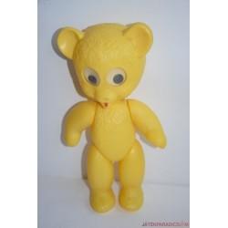 Vintage Retro gombszemű sárga maci