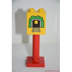 Lego Duplo alagút tábla