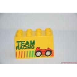 Lego Duplo Team Racing autó képes elem