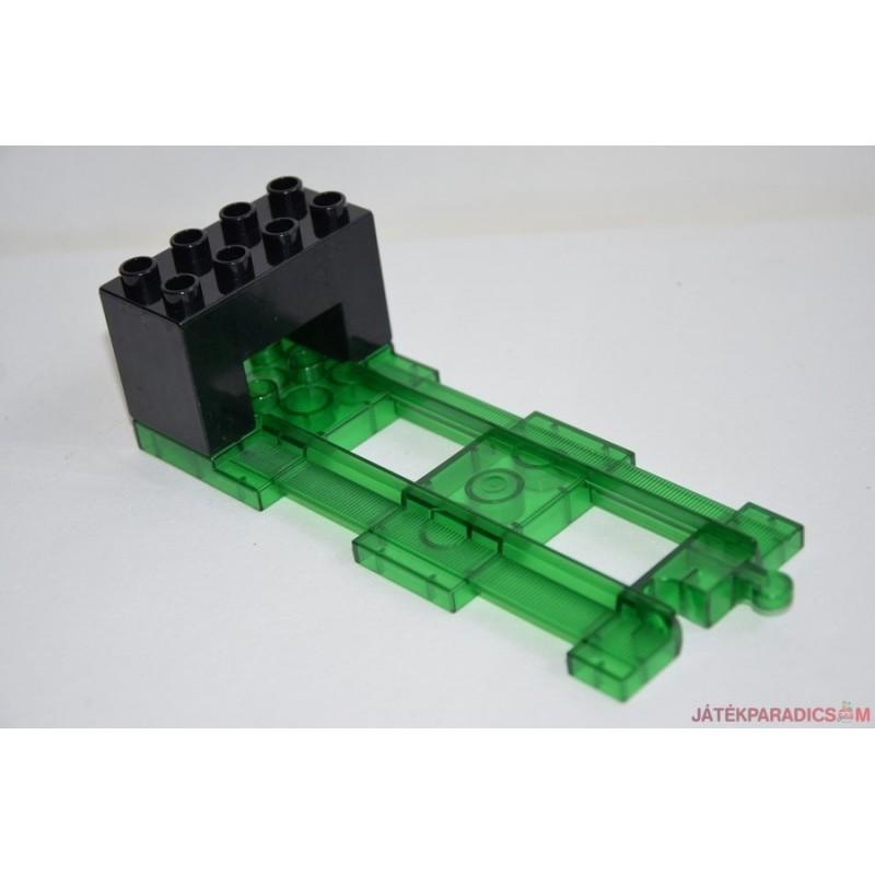 Lego Duplo vasúti ütköző elem