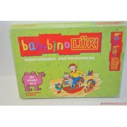 Bambino LÜK füzet Koncentrációs feladatok készlet