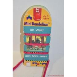 Mini Bandolino készségfejlesztő párosító játék Set  44 Erdőben