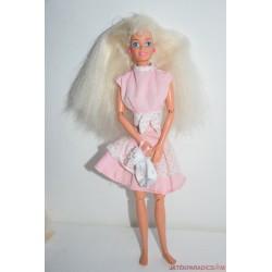 Vintage Barbie baba rózsaszín ruhában