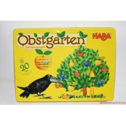 HABA 4170 Obstgarten,  Gyümölcsöskert társasjáték Jubileimi kiadás fém dobozos!