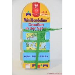 Mini Bandolino készségfejlesztő párosító játék Set 27, Kint a szabadban
