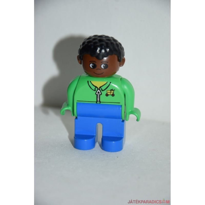 Lego Duplo fekete férfi