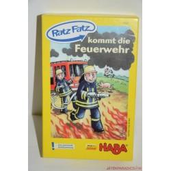 HABA 4542 Ratz Fatz kommt die Feuerwehr Gyere tüzet oltani társasjáték