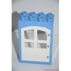Lego Duplo kék ajtó elem