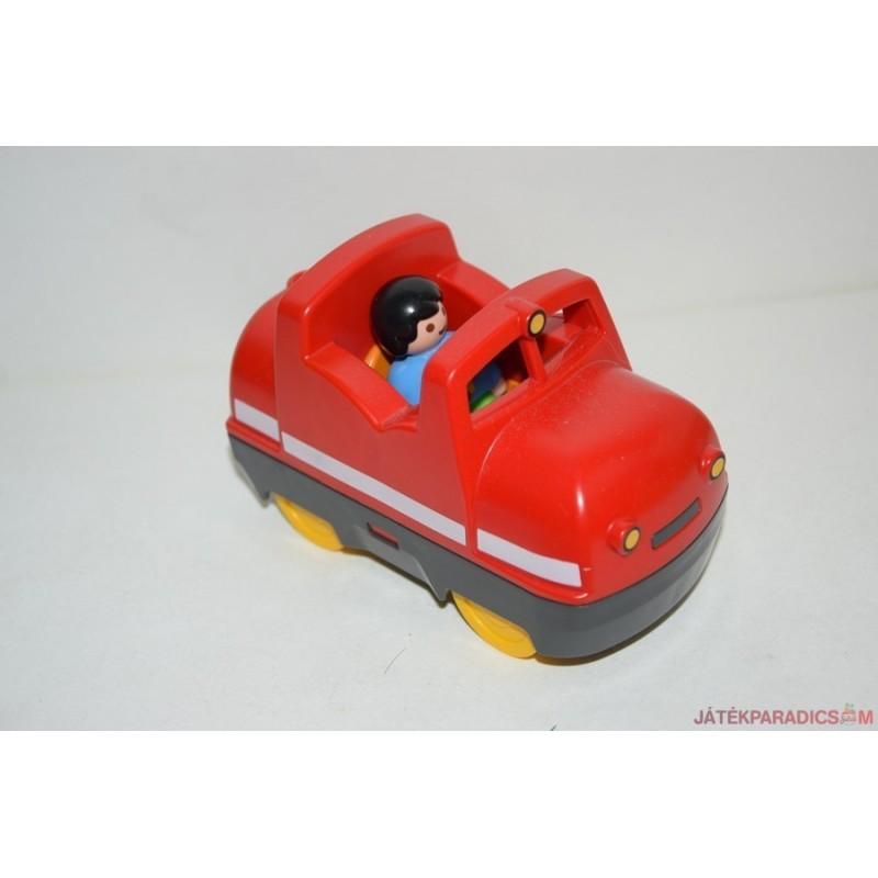 Playmobil piros mozdony
