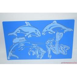 Átíró rajzoló sablon Tengerben