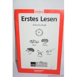Mini Lük készségfejlesztő füzet Iskola-előkészítő németül tanulok