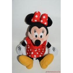Minnie egér plüss pöttyös ruhában