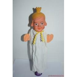Vintage királynő gumifejű báb