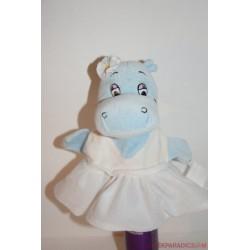 Kinder Ferrero Maxi Happy Hippos plüss víziló lány báb