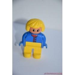 Lego Duplo kék blúzos nő