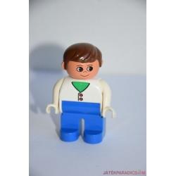 Lego Duplo fehér inges férfi