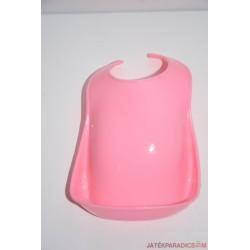 Baby Born rózsaszín műanyag előke