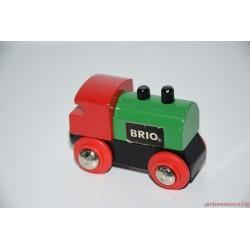 BRIO fa színes mozdony
