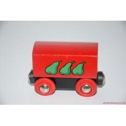 Fa vonatos színes vagon