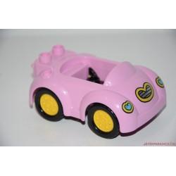 Lego Duplo Minnie egér rózsaszín autója