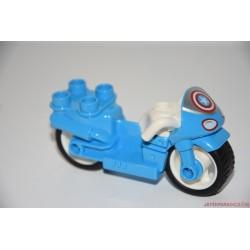 Lego Duplo Amerika kapitány kék motorja