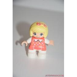 Lego Duplo pöttyös ruhás kislány
