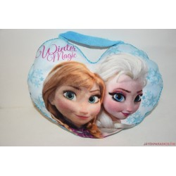 Disney Jégvarázs Elza és Anna plüss párna és kistáska