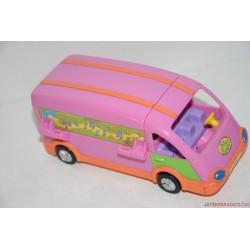Polly Pocket fellépőbusz készlet