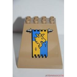 Lego duplo díszes várfal