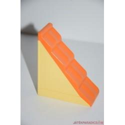Lego Duplo narancssárga, drapp falú tető